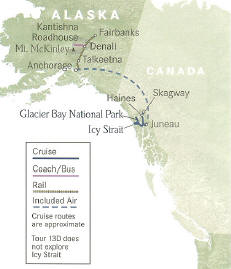 Glacier Bay Highlights + Extraordinary Wilderness Lodges