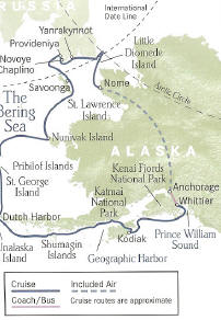 Voyage to the Bering Sea 14 Days, 13 Nights Round Trip From Anchorage